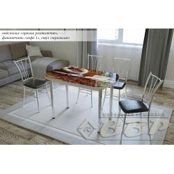 Стол раздвижной кофе 1